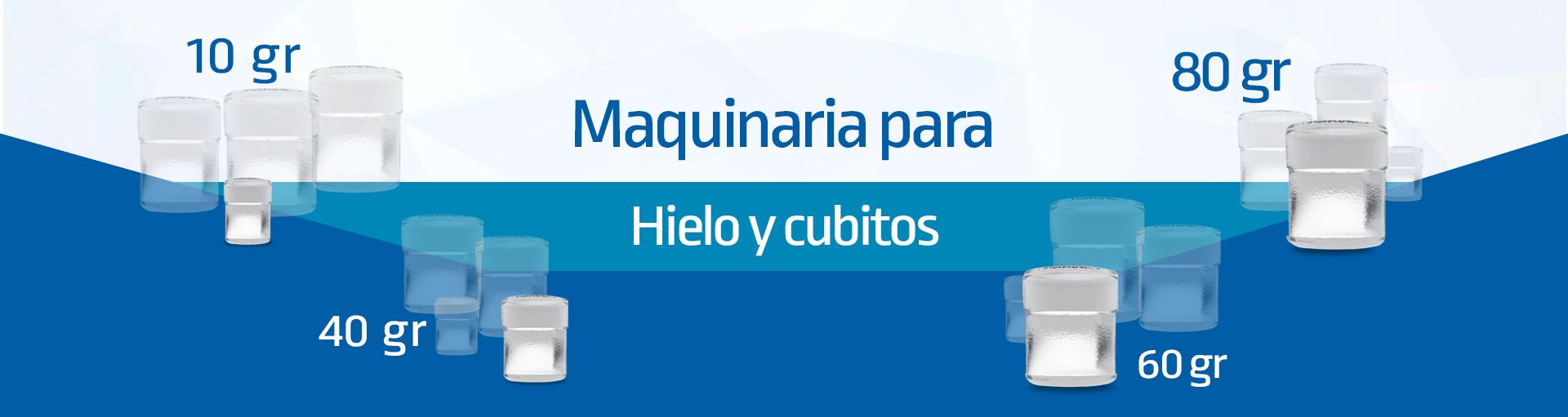 Cubiforma VENTA DE MAQUINARIA DE HIELO