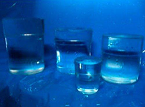 Cubitos de hielo de maquina
