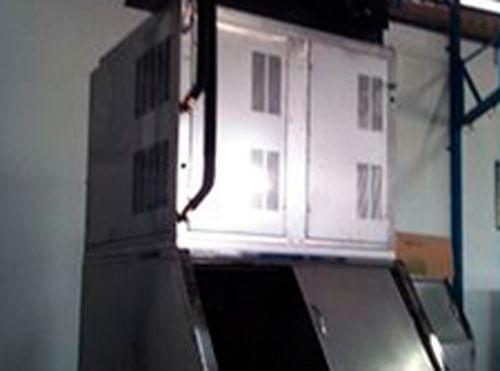 reparación de maquinaria de hielo