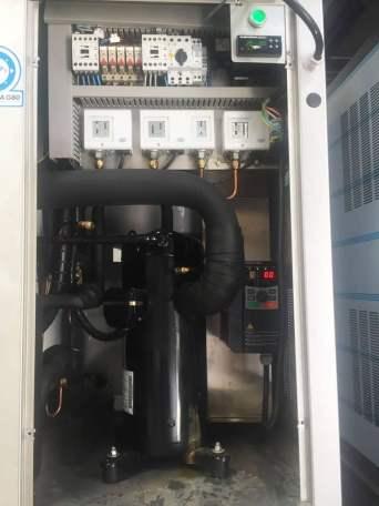 instalación máquina de hielo profesional