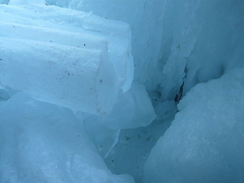 hielo en barra